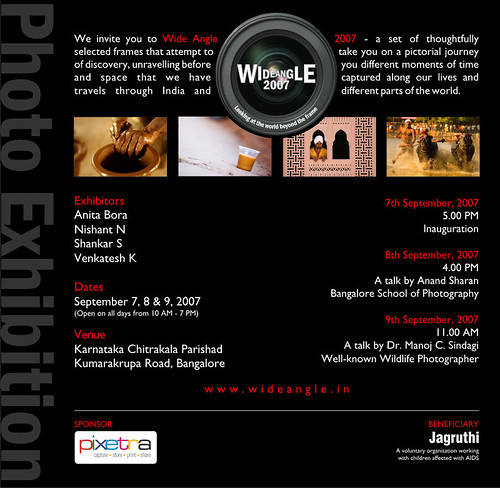 Wide Angle 2007: A photography exhibition