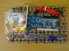 PCI SATA and IDE adapter