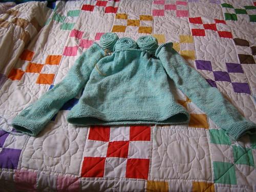 one yoke short of a sweater