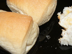Philippine Pandesal with Broken Glass
