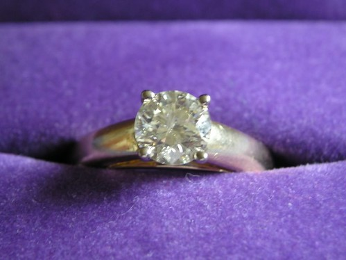 Engagement Ring - Image by David and Sarah Gasson on Flick'r
