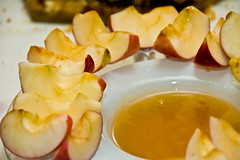 Apples dipped in honey or barbecue? What does your conscience tell you?