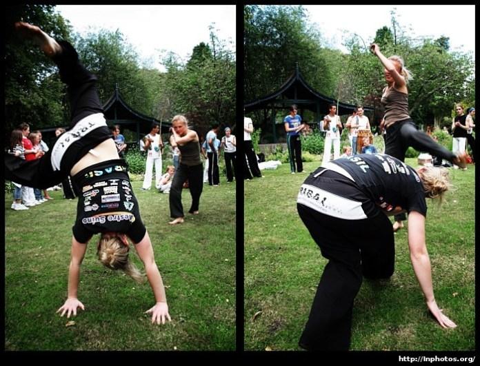 Capoeira Girls