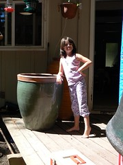 Ruth with new pot