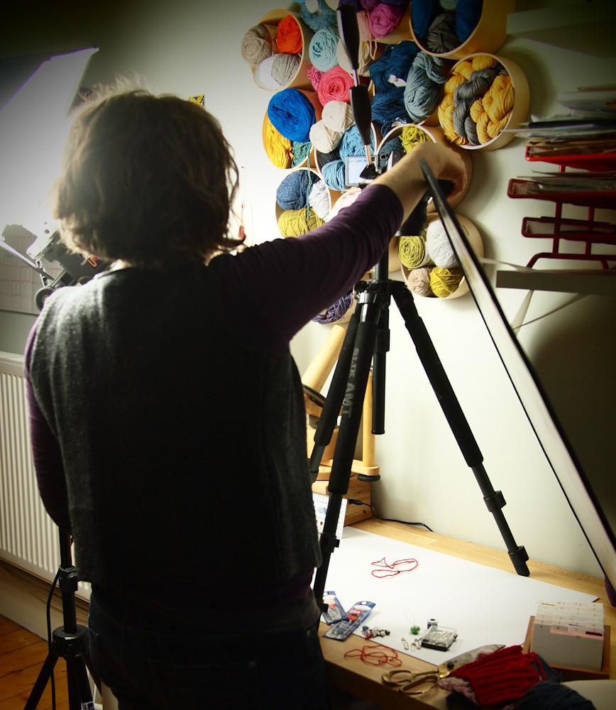 bex helping in the studio -1