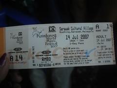 Ticket RM80