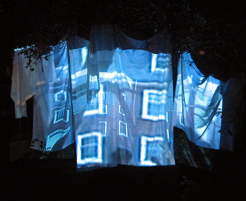 Digital Cinema Projection on Sheet