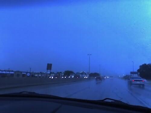 Storm on the return trip