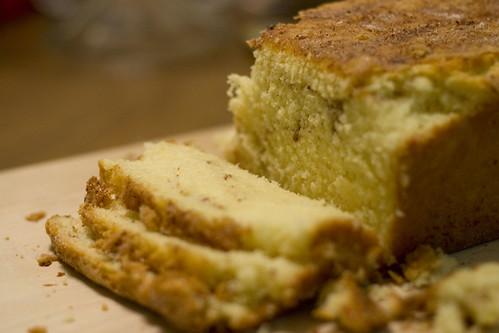 Cinnamon Pound Cake