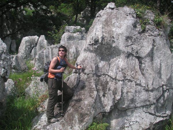 Paisaje kárstico en los Picos de Busampiro (Cantabria)