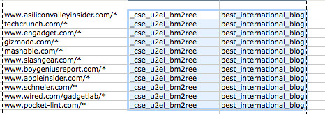 Putting a cse config fiel with refinements together