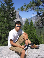 Dickson at Yosemite