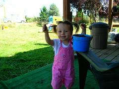 lola & sand bucket