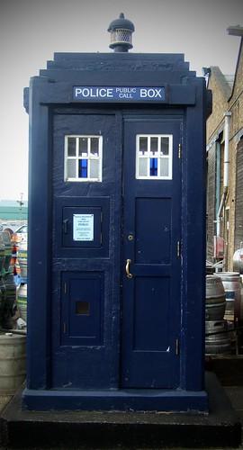 Phone Box or Spaceship?