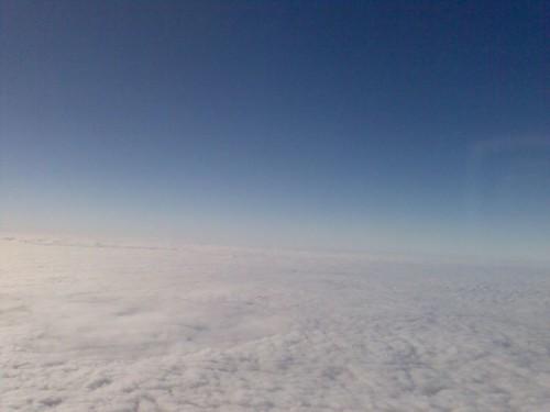 Les nuages vus du dessus