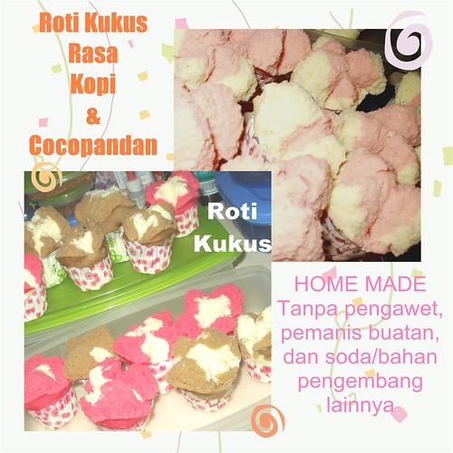 Pink Roti Kukus