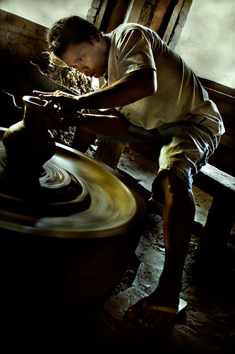 Ilocos pottery making Buhay Pinoy Philippines Filipino Pilipino  people pictures photos life Philippinen