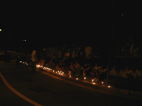 Vigil/Protest Outside Burmese Embassy in Singapore