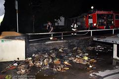 Mülltonnenbrand Konrad-Duden-Schule 24.06.10
