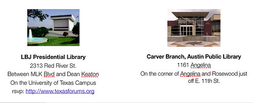 carver and lbj libraries