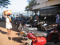 Woman vendor, Panjim, Goa