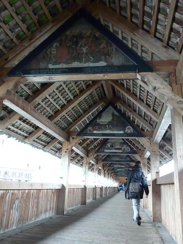 Detalles del Kapellbrücke