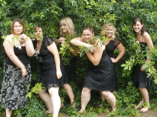 Our amazing bridesmaids