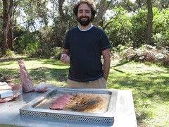 Carn a la brasa a l'australiana