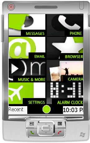 Kinlauncher A Kin Theme For Htc Hd2 Windows Mobile Smartphone