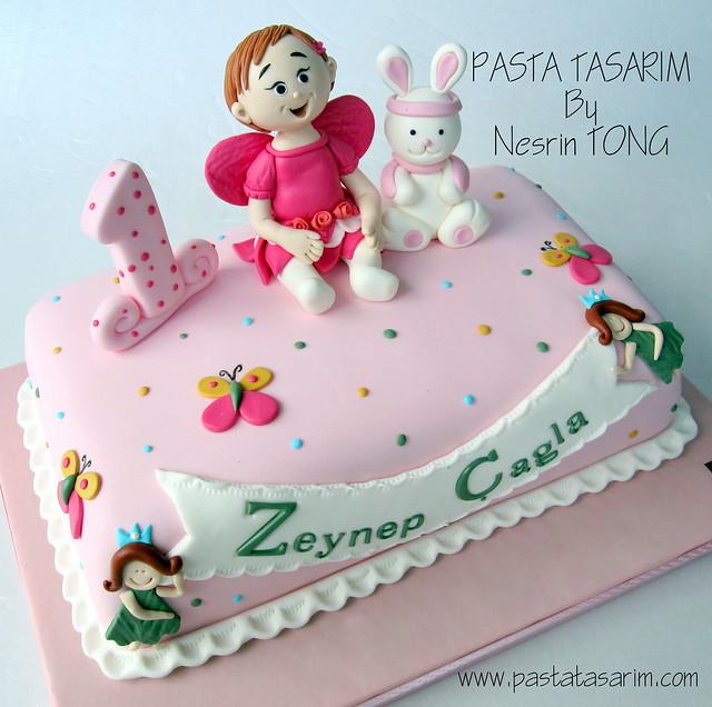 1st BIRTHDAY CAKE - ZEYNEP CAGLA