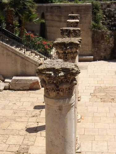 Row of Pillars
