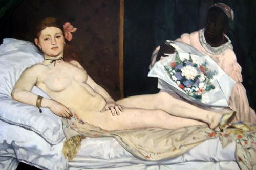 Paris - Musée d'Orsay: Manet's Olympia