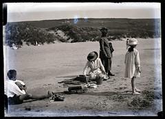 On The Beach c1900