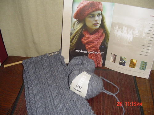 Tierra Cable Scarf