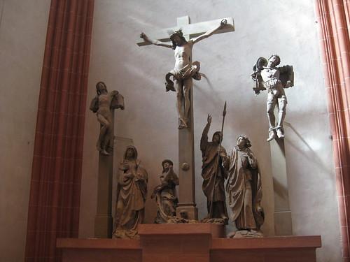 Jesucristo en la catedral de Frankfurt