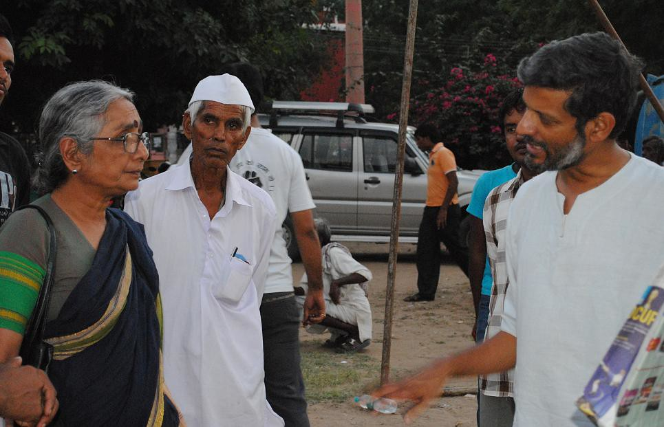 Pics from the satyagraha - 4 Oct 2010 - 18