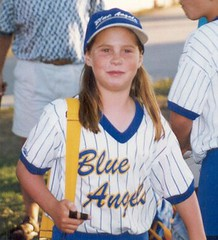 Jenna - Blue Angels Softball, 1997