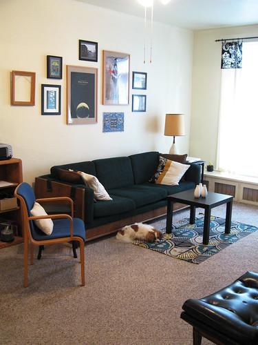 Living room improvements.