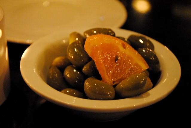 Lemony Olives