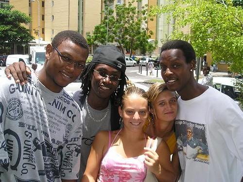 Moi ,Laurent, Justine, Lisa & Yannick