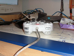 Rear viev of my new controler
