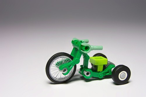 Lego tricycle Big Wheel