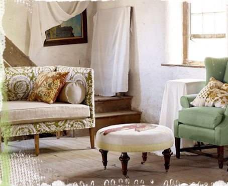 Anthropologie Ditte Slipcover Sofa