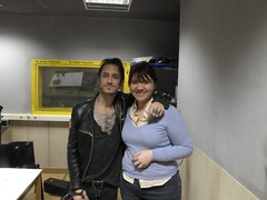 Me and Jimmy Gnecco