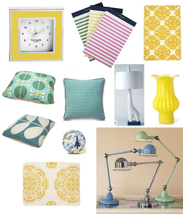 Craving Yellow & Blue: Wish List