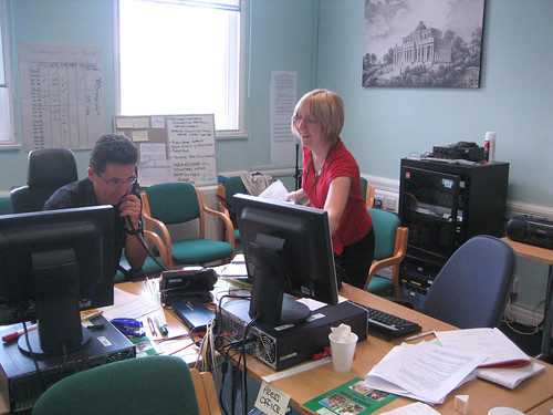 Cheltenham Borough Council emergency planning team