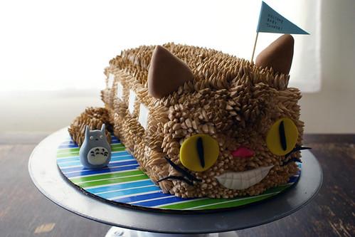 CATBUS! cake!