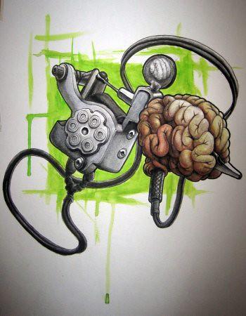 new tattooed brain