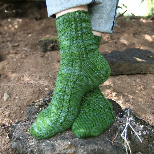 * I really love this sock pattern!  ;)