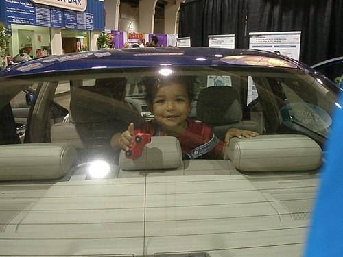 Alton in car